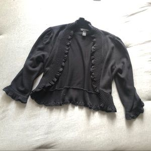 I.N.C. Ruffled Shrug Top - LRG